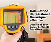 Calculatrice de résistance thermique effective